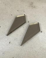 ARROW - earrings, grey