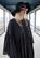 LUSH - DRESS long BRODE, BLACK