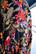 FLIRTY - DRESS PUFF-SLEEVE, AUTUMN FLOWER