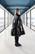 LUSH- DRESS , BLACK PVC