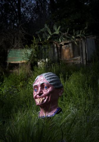 Kenneth Bamberg, Animating a mask (Grandmother)