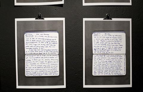Milla Toukkari, Kirjeet/Letters