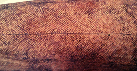 Mateennahka, pajulla parkittu, pituus 25-30cm
