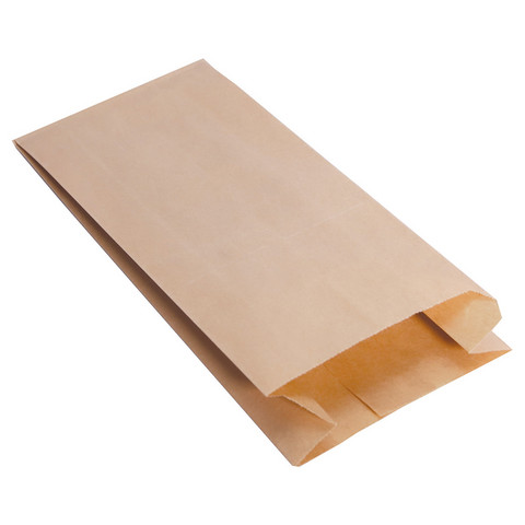 Elintarvikekelpoinen paperipussi 380×210×80mm. Määrä: 40KPL