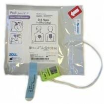 Elektrodit, lasten - Zoll AED Plus (Pedi-Padz II)