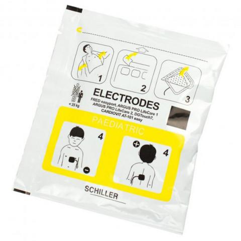 DefiSign LIFE & FRED Easyport, lasten elektrodit