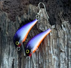 Purpleback earrings