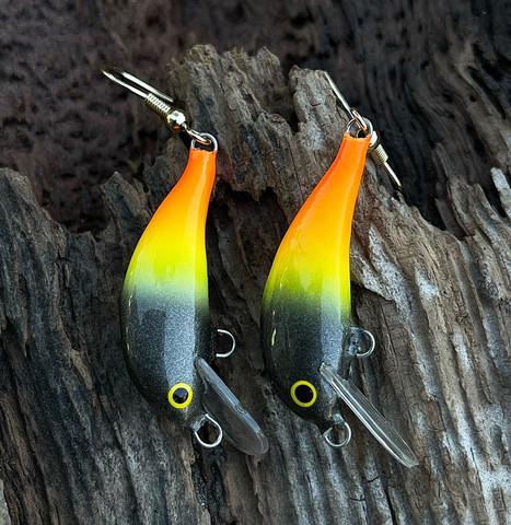 Fireass earrings