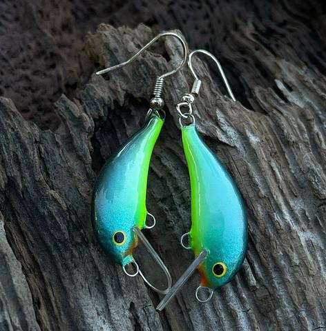 Turquoiserib earrings