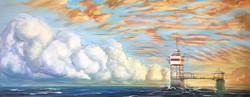 Vastaanotto merinäköalalla, 2021