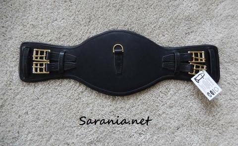 Minipanssari koulusatulavyö nahkaa 55cm