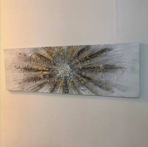 Abstrakt canvastaulu