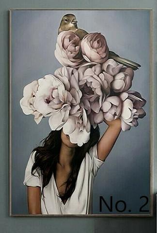 Kukkainen taulu