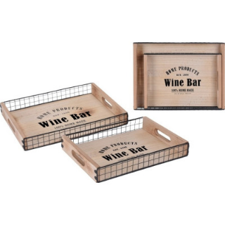 Wine bar- tarjottimet