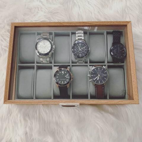 Säilytyslaatikko kelloille