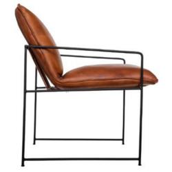 Lova ruskea nojatuoli