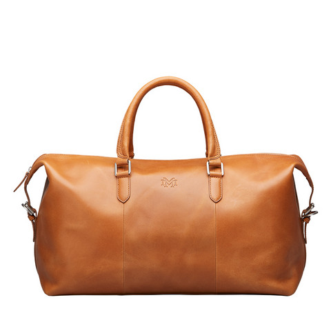 Luton Overnighter Bag, Cognac