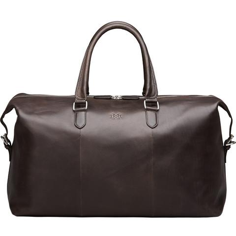Luton Weekender Bag, Chocolate