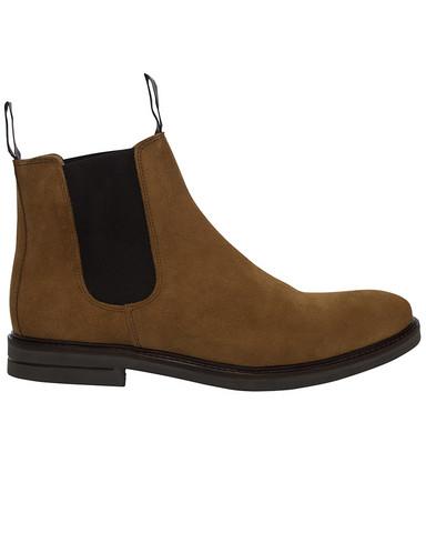 Chelsea Suede Boot, Cognac