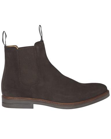 Chelsea Suede Boot, Dk.Brown