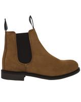 W´s Chelsea Suede Boot, Cognac