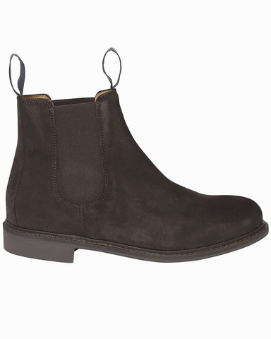 W´s Chelsea Suede Boot, Dk.Brown