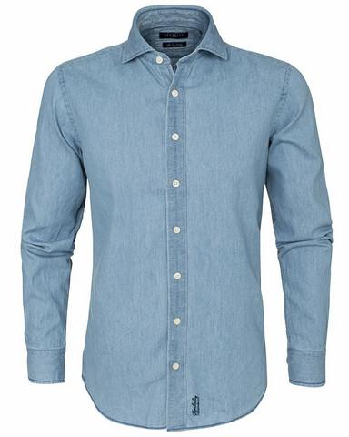 Dover Denim Shirt, Lt.Blue