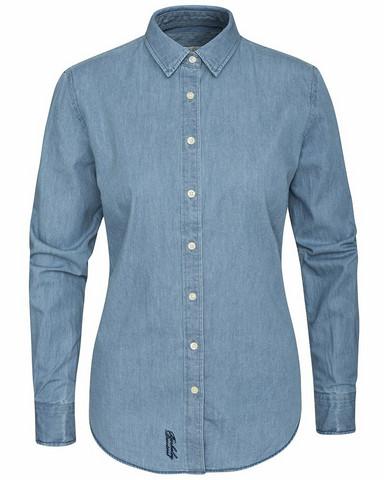 W's Dover Denim Shirt, Lt.Blue