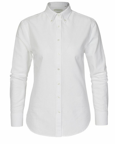 W's Porto Oxford Tailored Shirt, white