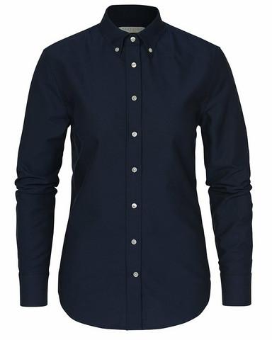 W's Porto Oxford Tailored Shirt, Navy