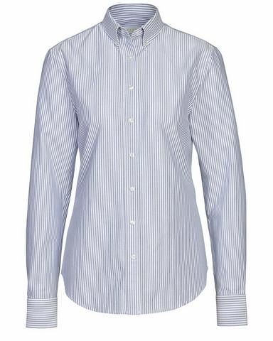 W's Porto Oxford Stripe Tailored Shirt