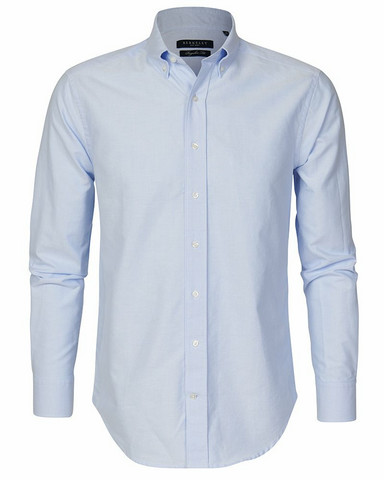 Porto Oxford Regular Shirt, Lt.Blue
