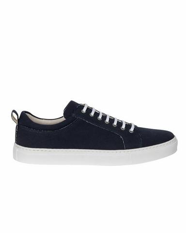 Berkeley Canvas Sneaker, navy