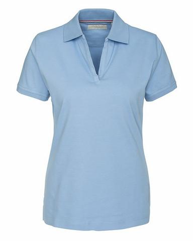 W's Camden Stretch Polo, light blue