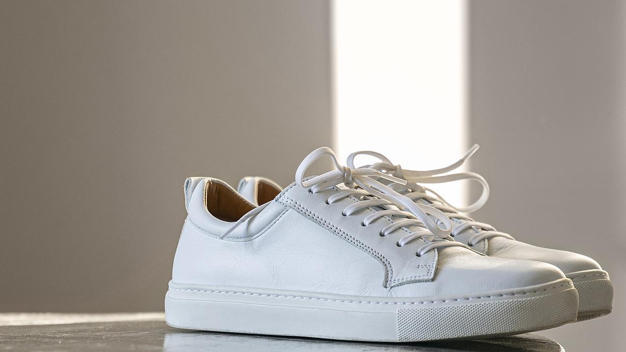 Luigi Leather Sneaker