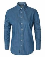 W's Dover Denim Shirt, Mid Blue