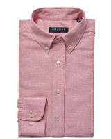 Porto Oxford Tailored Shirt, Red