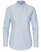 W's Porto Oxford Tailored Shirt, Lt.Blue