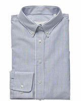 W's Porto Oxford Stripe Tailored Shirt