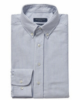 Porto Oxford Stripe Tailored Shirt
