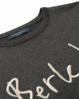 Signature Crew Knit, Anthracite