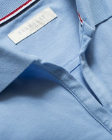 W's Camden Stretch Polo, light blue