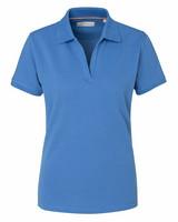 W's Camden Stretch Polo, sky blue