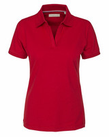 W's Camden Stretch Polo, red