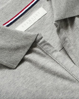 W's Camden Stretch Polo, greymelange