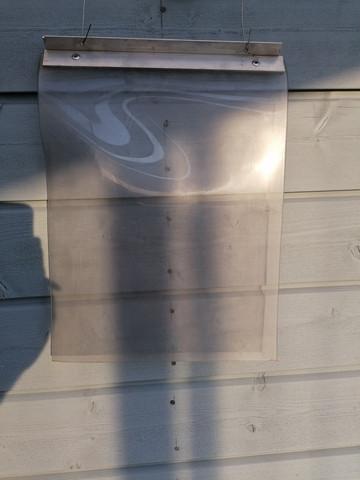 Verholuukku läpinäkyvä Keskikoko 30x40cm