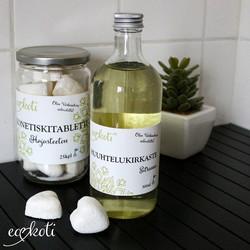 Ecokoti® Huuhtelukirkaste Sitruuna