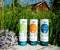 Villipuro Suoladeodorantti, eri vaihtoehtoja