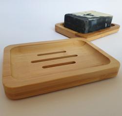 Saippua-alusta bambu