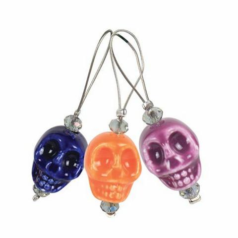 Skull Candy silmukkamerkit, KnitPro